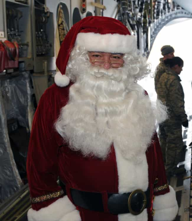 Santa Claus is listed (or ranked) 4 on the list The Best Old Man Bushy Beards in Pop Culture