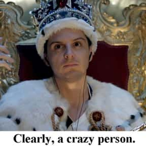 Professor Moriarty is listed (or ranked) 9 on the list The Best TV Villains Of All Time