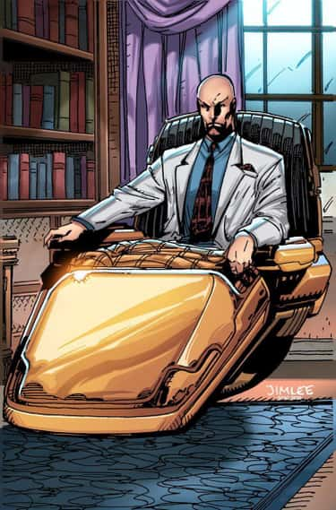 Professor X is listed (or ranked) 1 on the list 13 Seemingly Disabled Superheroes & Villains