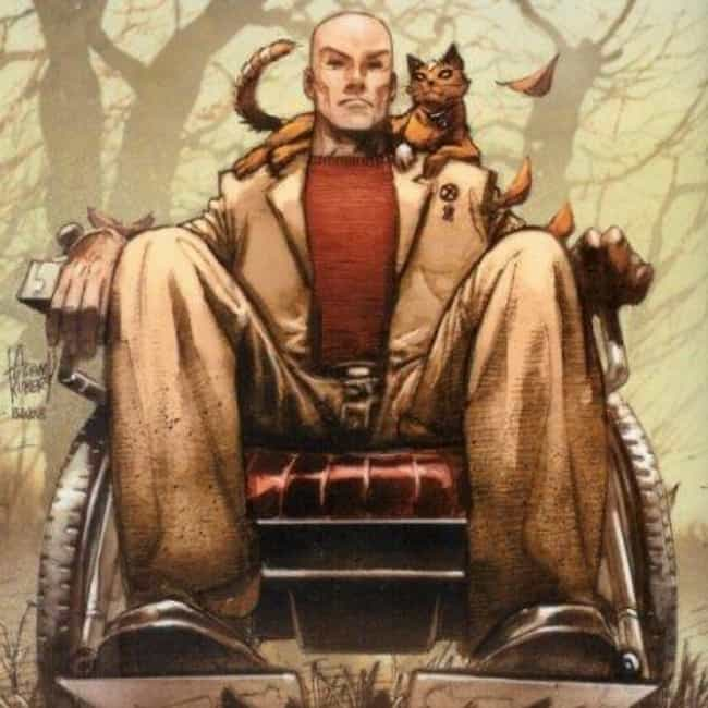 Professor X is listed (or ranked) 1 on the list 23 Seemingly Disabled Superheroes & Villains