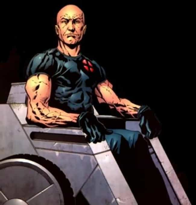 Professor X is listed (or ranked) 2 on the list Comic Characters Who Stayed Dead