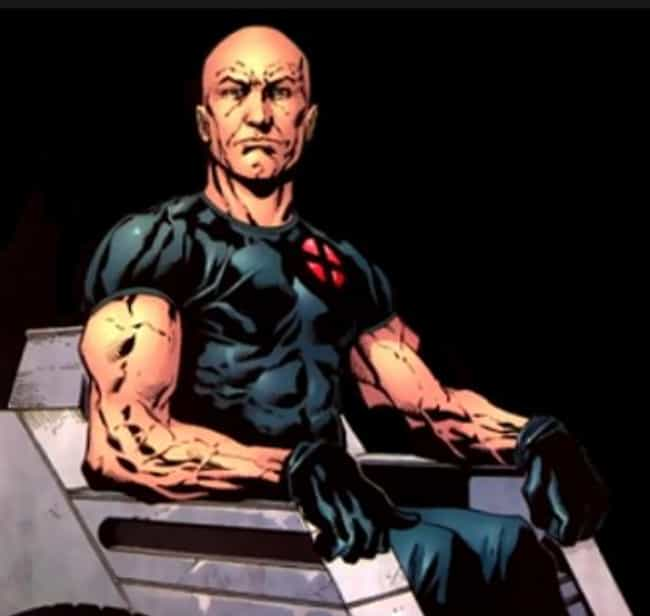 Professor X is listed (or ranked) 3 on the list The Best Superhero Mentors