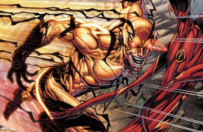 Professor Zoom is listed (or ranked) 3 on the list 23 DC Heroes And Villains Who Can Tap Into The Speed Force