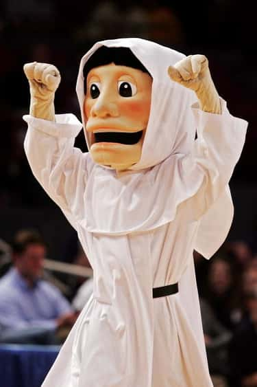 Providence College is listed (or ranked) 2 on the list The Creepiest Sports Mascots
