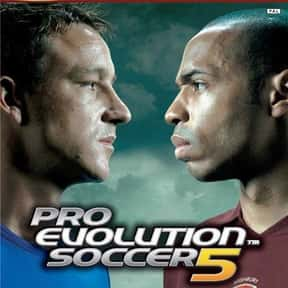 Pro Evolution Soccer 5 is listed (or ranked) 5 on the list The Best PlayStation 2 Soccer Games