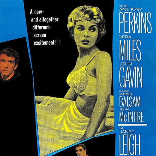 Psycho is listed (or ranked) 3 on the list The Greatest Suspense Movies
