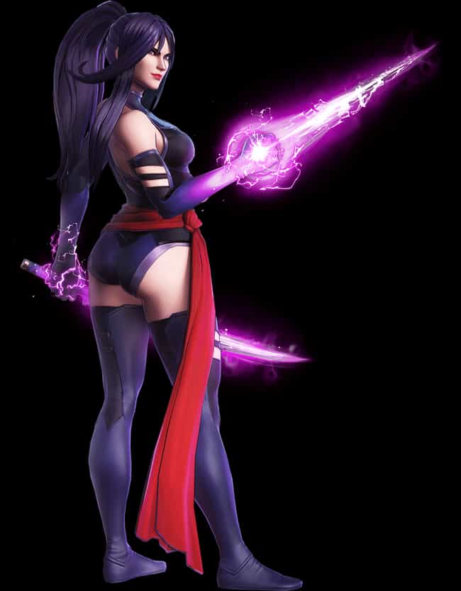 Psylocke is listed (or ranked) 1 on the list All 'Marvel Ultimate Alliance 3' Characters, Ranked