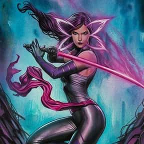 Psylocke is listed (or ranked) 4 on the list List of All The Hand Members
