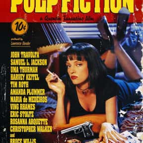 Pulp Fiction is listed (or ranked) 19 on the list The Best Oscar-Nominated Movies of the '90s