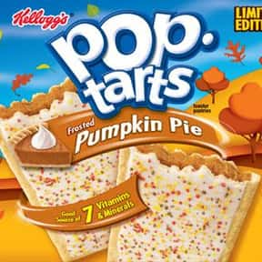 Pumpkin Pie Pop-Tarts is listed (or ranked) 19 on the list The Very Best Pop-Tart Flavors