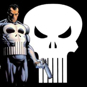 Punisher is listed (or ranked) 15 on the list The Top Marvel Comics Superheroes