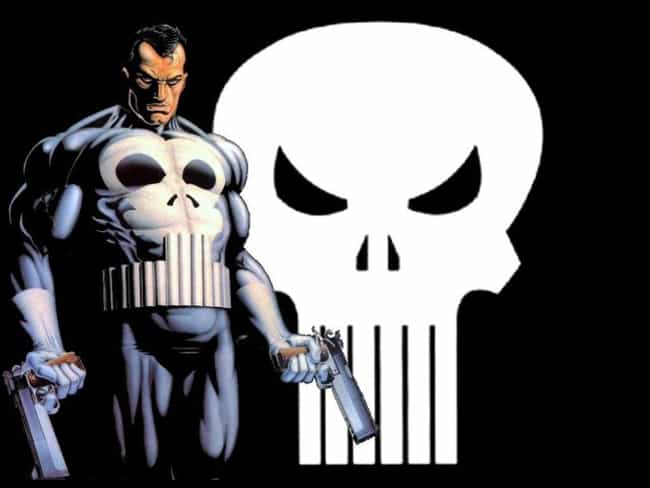 Punisher is listed (or ranked) 4 on the list The Most Emo Marvel And DC Superheroes