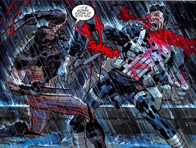 Punisher is listed (or ranked) 3 on the list The Shortest Deaths In Comic Book History