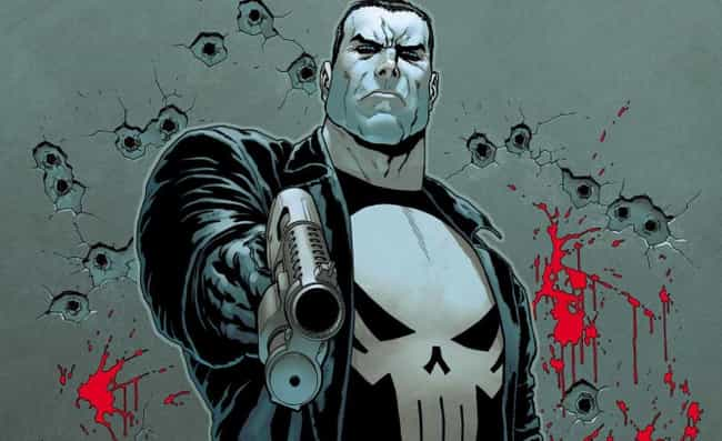Punisher is listed (or ranked) 2 on the list Which Street-Level Superhero Would Win In An All-Out Bare Knuckle Street Fight?