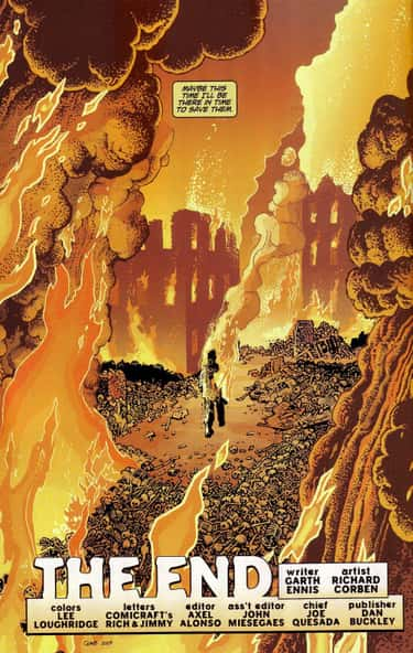An Irradiated Punisher Finishes Off Humanity In 'The End'