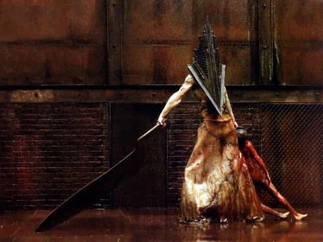 Pyramid Head is listed (or ranked) 1 on the list The Scariest Video Game Monsters Of All Time