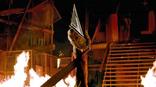 Pyramid Head is listed (or ranked) 4 on the list 14 Monsters You Don't Want To Admit You Have A Crush On