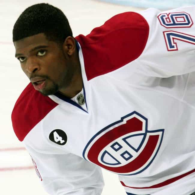 P. K. Subban is listed (or ranked) 4 on the list The Best Athletes Who Wore #76