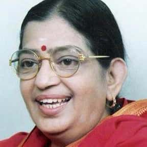 P. Susheela is listed (or ranked) 18 on the list The Greatest Singers of Indian Cinema