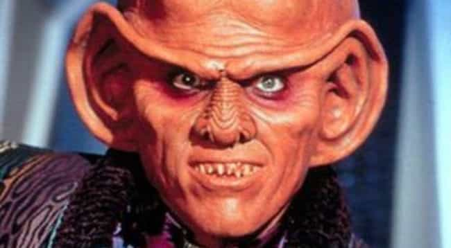 Quark is listed (or ranked) 4 on the list The Luckiest Characters In The 'Star Trek' Franchise
