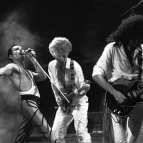 Queen is listed (or ranked) 1 on the list The Greatest Live Bands of All Time