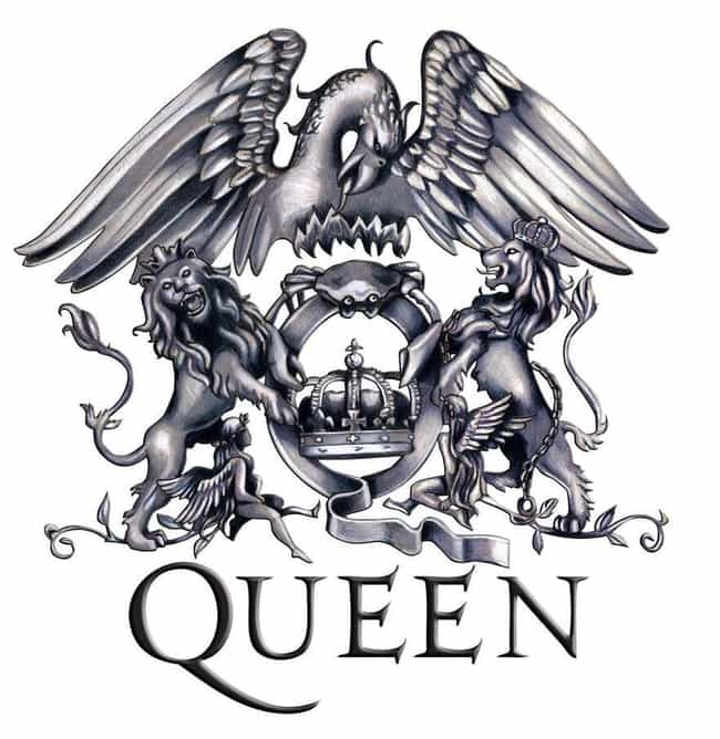 Queen is listed (or ranked) 1 on the list The Greatest Rock Band Logos of All Time