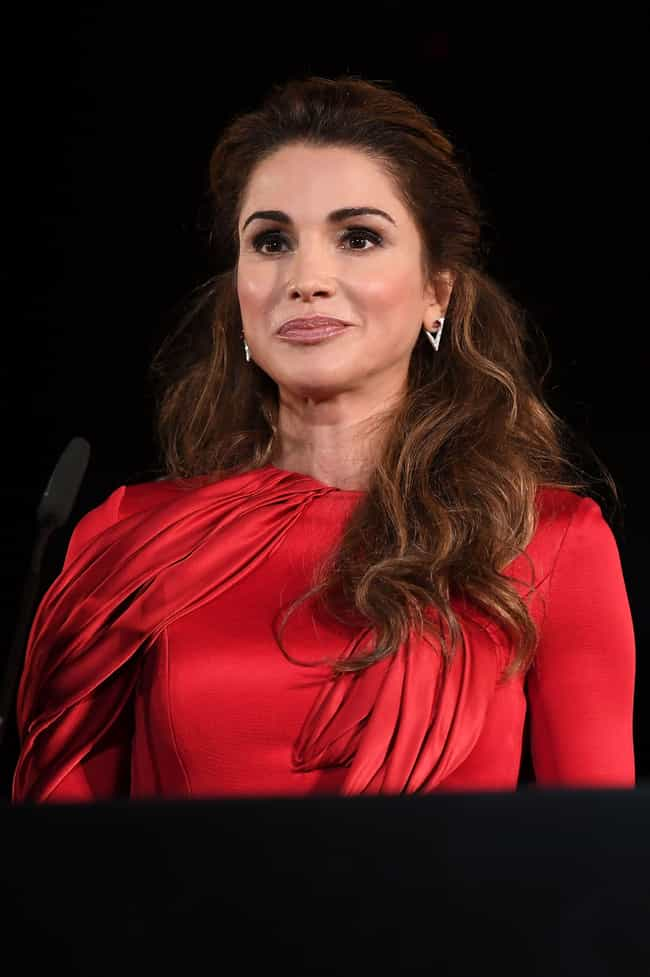 Queen Rania of Jordan is listed (or ranked) 2 on the list Famous People who Majored in Management