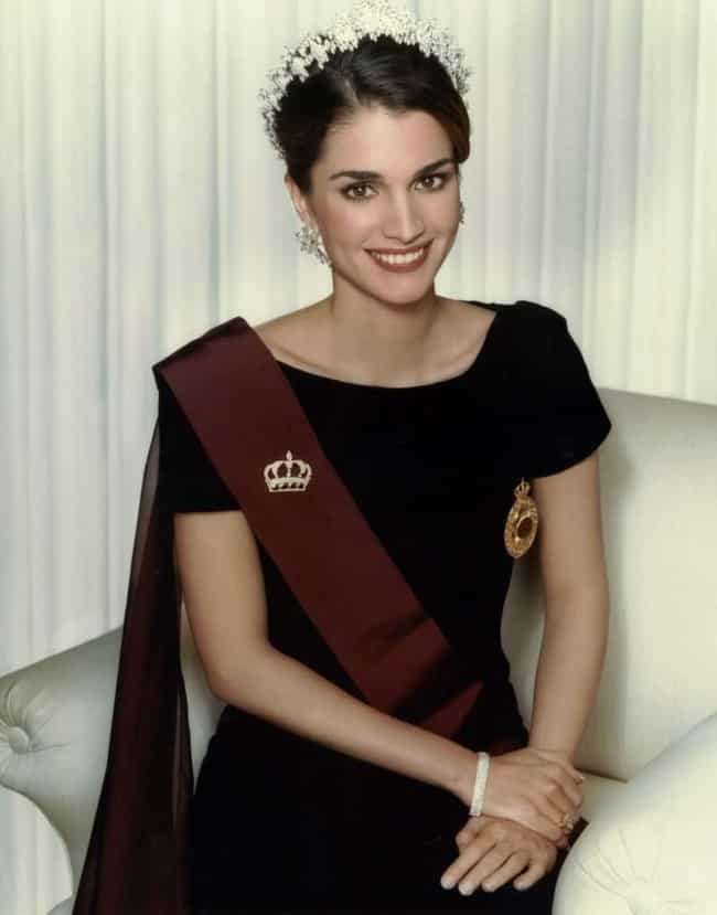 Queen Rania of Jordan is listed (or ranked) 1 on the list The Most Beautiful Royal Women Around the World