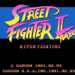 Street Fighter II' Turbo: Hype is listed (or ranked) 15 on the list The Best Fighting Games of All Time