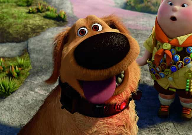 Dug is listed (or ranked) 1 on the list The Cutest Pixar Animals