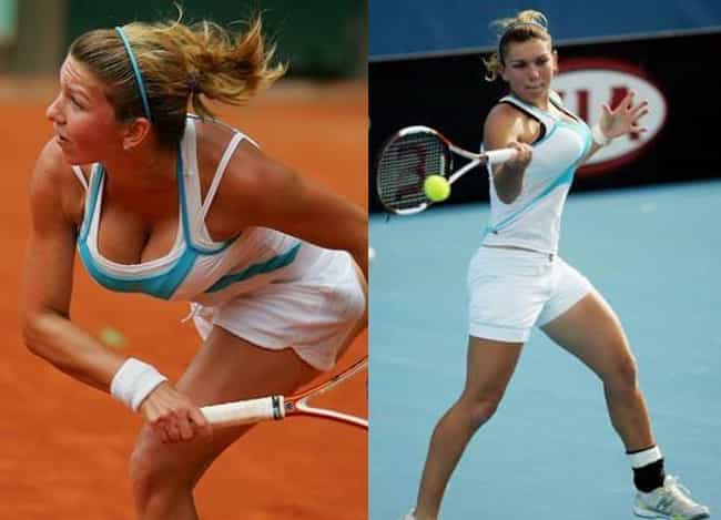 Simona Halep is listed (or ranked) 1 on the list The Bustiest Athletes That Make You Love Sports