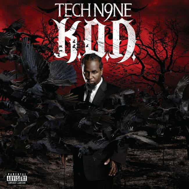 K.O.D. is listed (or ranked) 2 on the list The Best Tech N9ne Albums of All Time