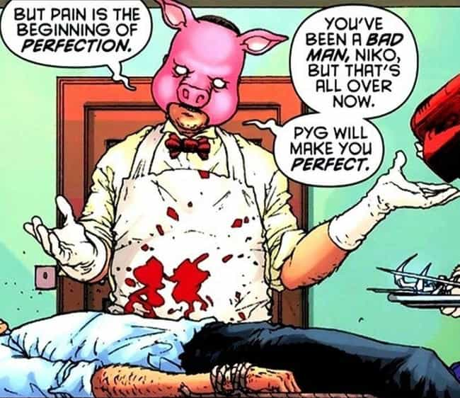 Professor Pyg is listed (or ranked) 2 on the list The Most Criminally Underrated Batman Villains