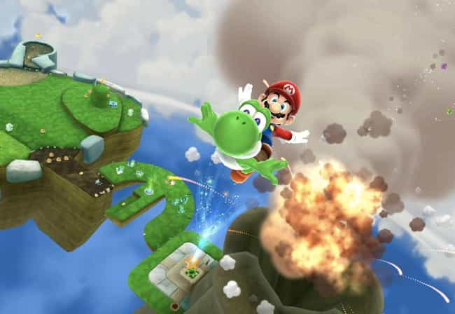 Super Mario Galaxy 2 is listed (or ranked) 4 on the list The Best Games To Play With Non-Gamers