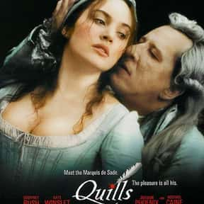 Quills is listed (or ranked) 19 on the list The Best Kate Winslet Movies