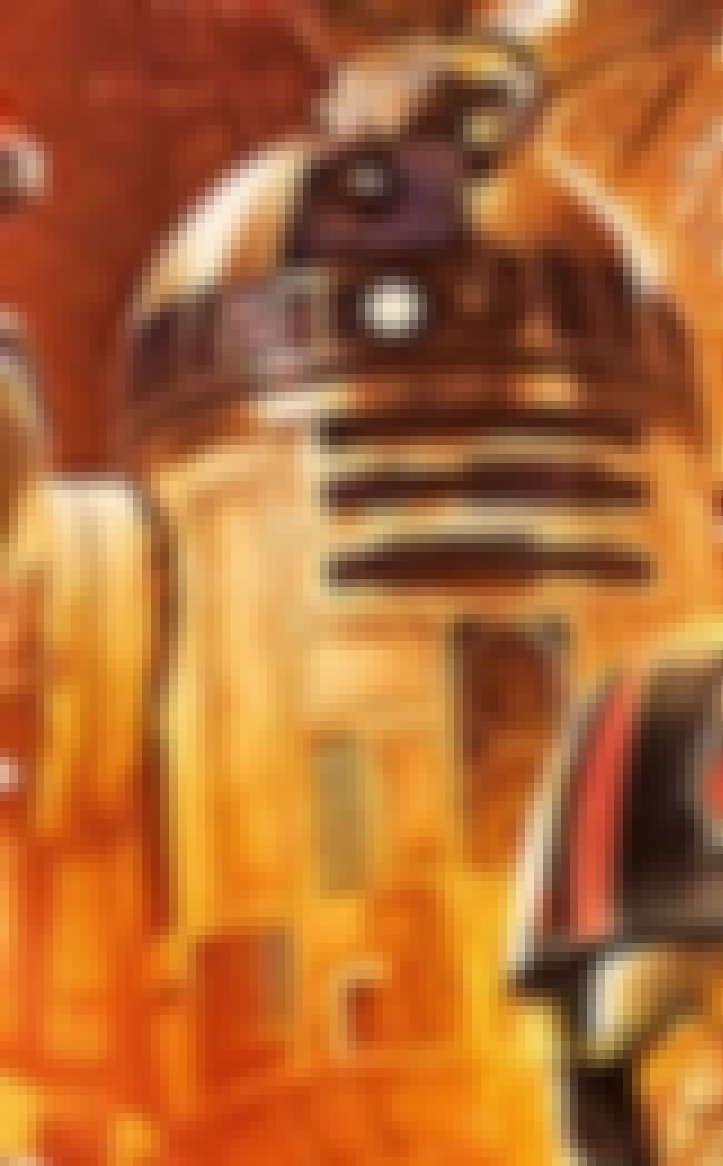 R2-D2 is listed (or ranked) 4 on the list The Coolest Things in the Star Wars: Episode VII Poster