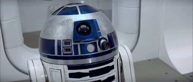 R2-D2 is listed (or ranked) 1 on the list 'Star Wars' Droids, Ranked By How Useful They'd Be In Real Life