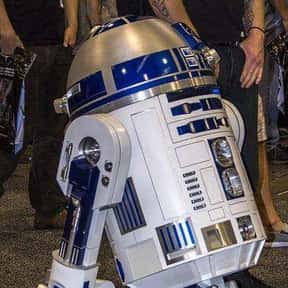 R2-D2 is listed (or ranked) 7 on the list Vader to Binks: Best to Worst Star Wars Characters