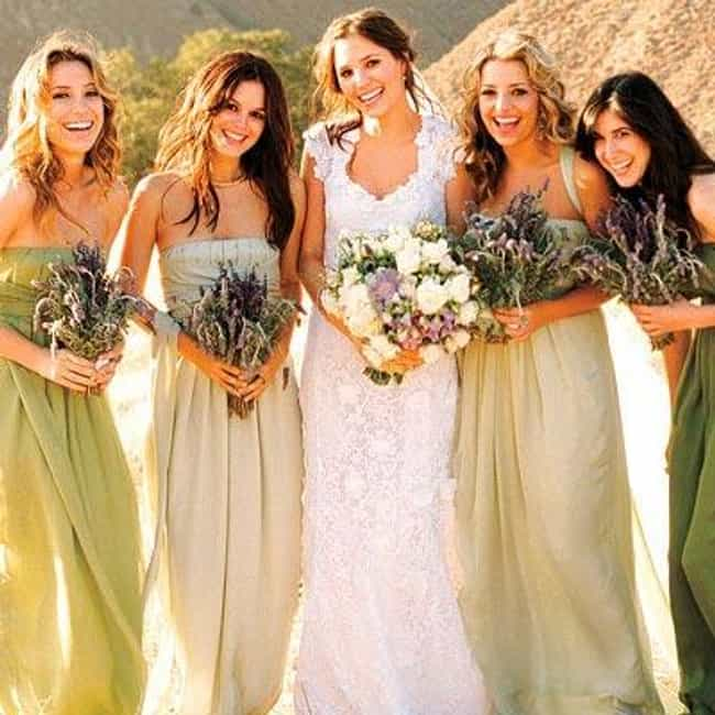 Rachel Bilson Is Listed Or Ranked 4 On The List Best Celebrity Bridesmaid