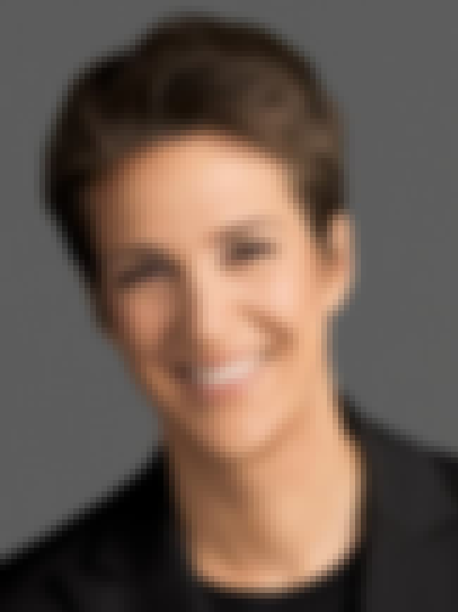 Rachel Maddow is listed (or ranked) 5 on the list Famous People who Majored in Political Science