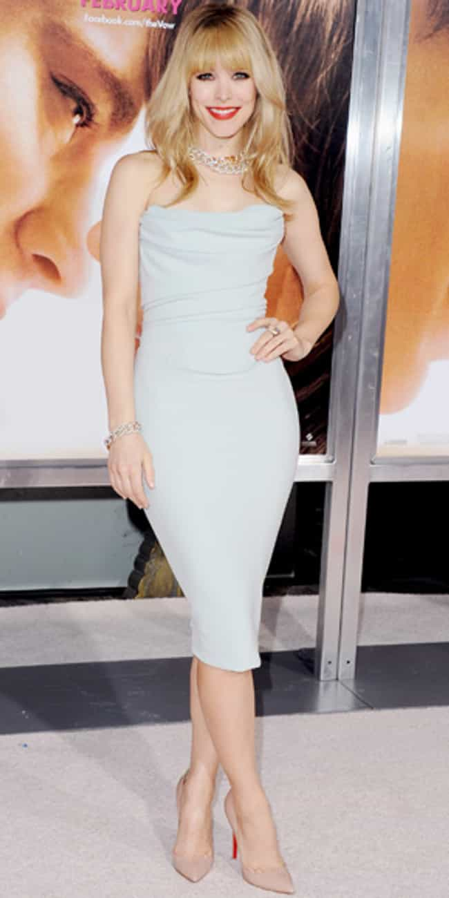Rachel McAdams is listed (or ranked) 2 on the list Celebrities in Vivienne Westwood Dresses