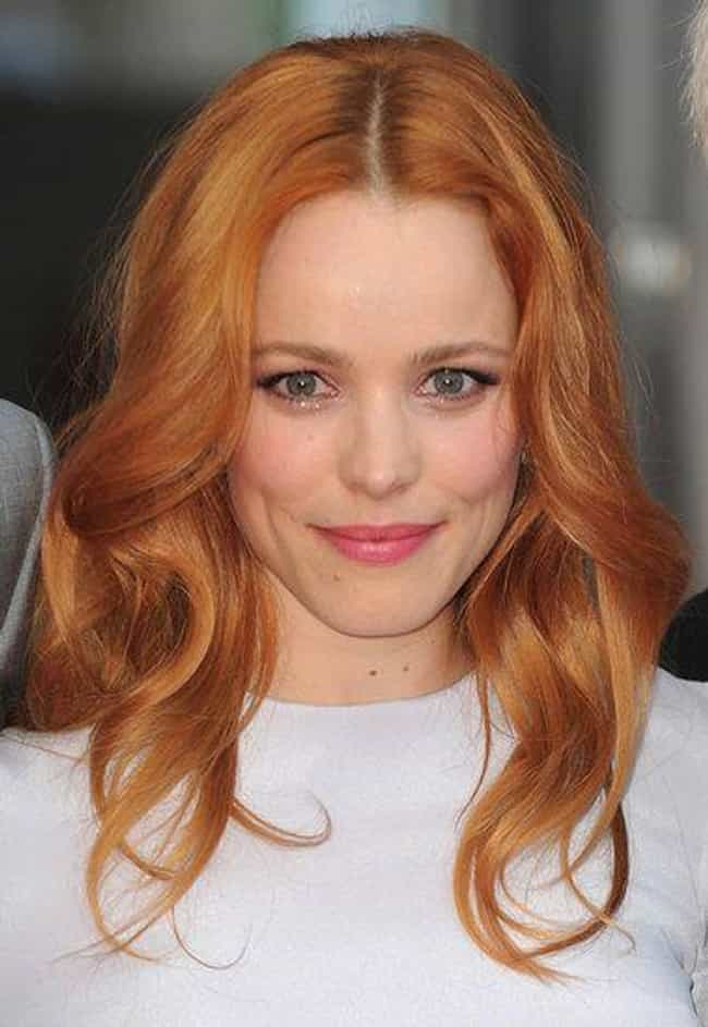 Rachel McAdams is listed (or ranked) 3 on the list The Most Beautiful Women with Strawberry Blonde Hair