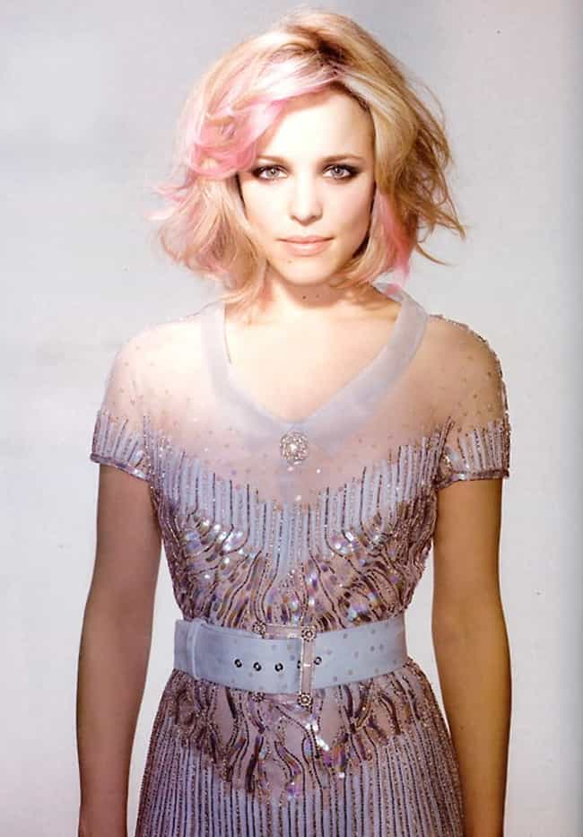 Rachel McAdams is listed (or ranked) 3 on the list The Hottest Women with Brightly Colored Hair