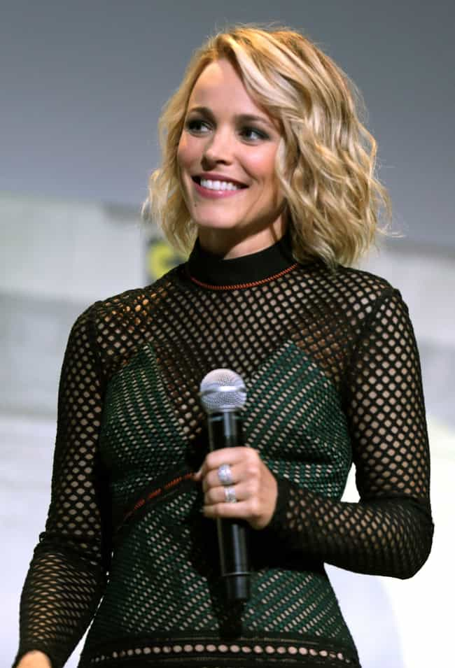 Rachel McAdams is listed (or ranked) 4 on the list The Best Celebrity Smiles (Women)