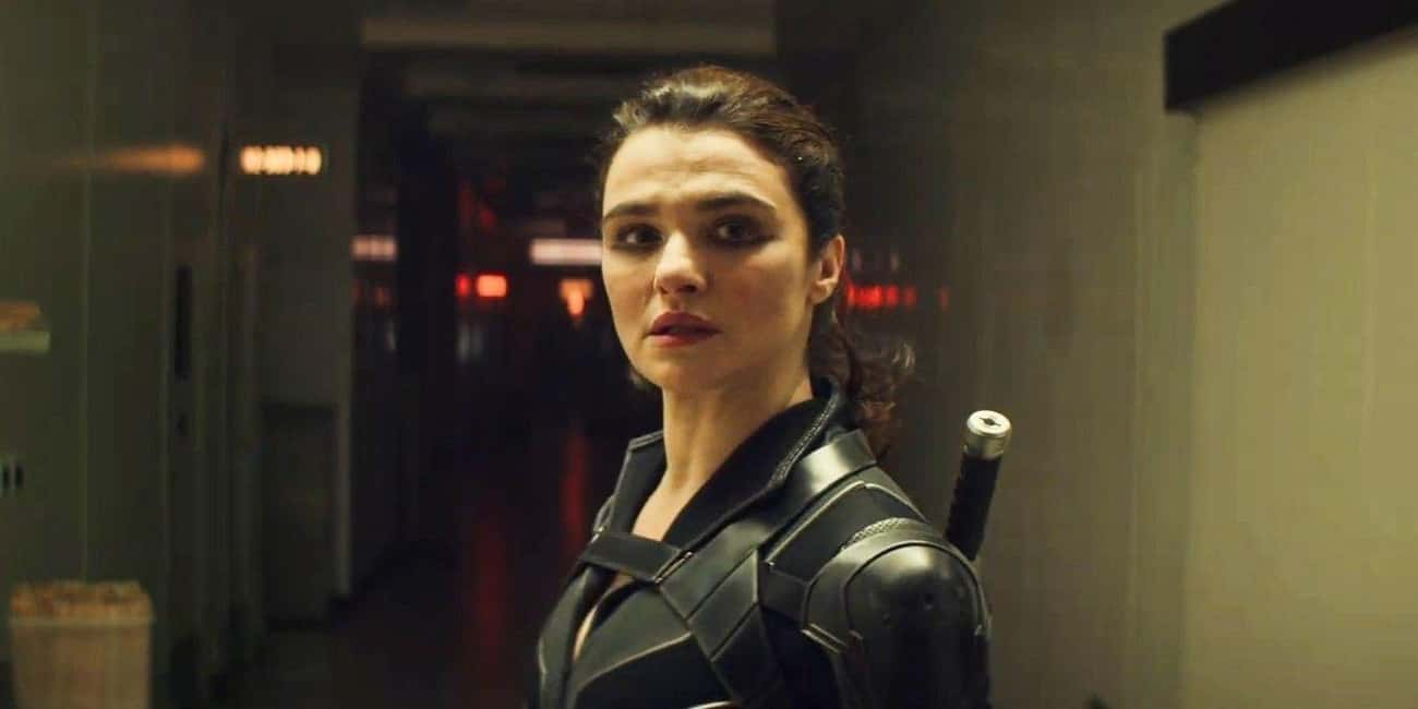 Rachel Weisz in Black Widow as an overqualified role in the MCU