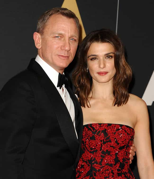 Rachel Weisz is listed (or ranked) 1 on the list Daniel Craig's Loves & Hookups