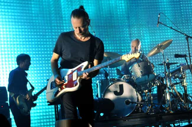 Radiohead is listed (or ranked) 2 on the list Celebrities Who Have Been Hacked