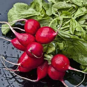 Radish is listed (or ranked) 21 on the list The Best Garden Vegetables to Eat