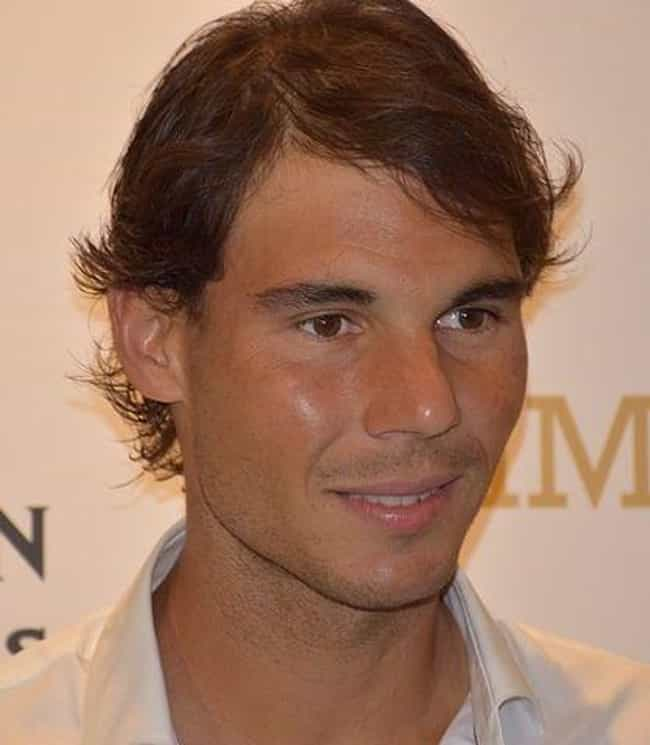 Rafael Nadal is listed (or ranked) 4 on the list The Sexiest Sports Superstars