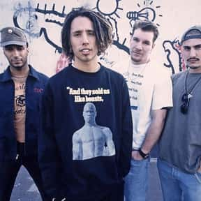 Rage Against the Machine is listed (or ranked) 6 on the list The Greatest Musical Artists of the '90s